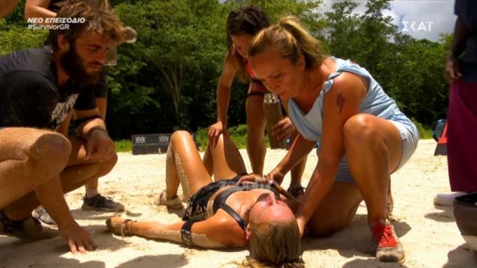 Survivor: Κατέρρευσε από την εξάντληση η Κατερίνα Δαλάκα! | tlife.gr