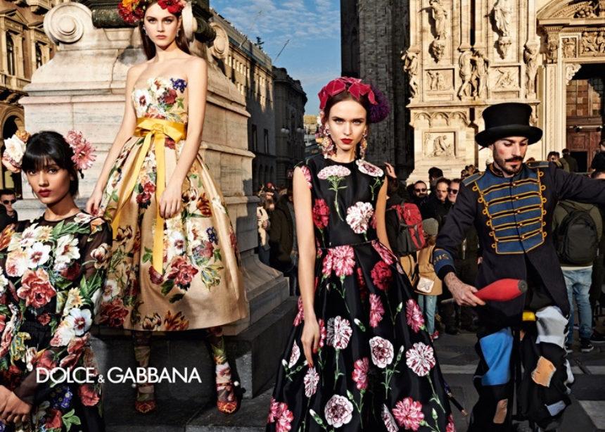 Η νέα campaign των Dolce & Cabbana φωτογραφήθηκε στους δρόμους του Μιλάνο! | tlife.gr