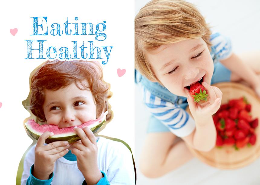 10+1 τρόποι για να κάνεις τα παιδιά σου να τρώνε πιο υγιεινά