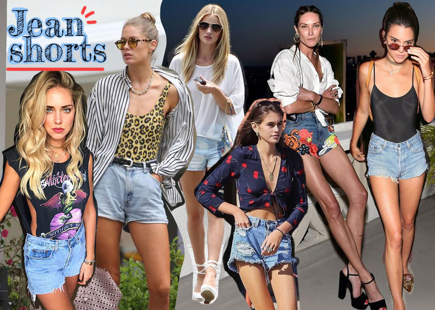 Jean shorts: Μαθήματα styling από τις διάσημες! | tlife.gr