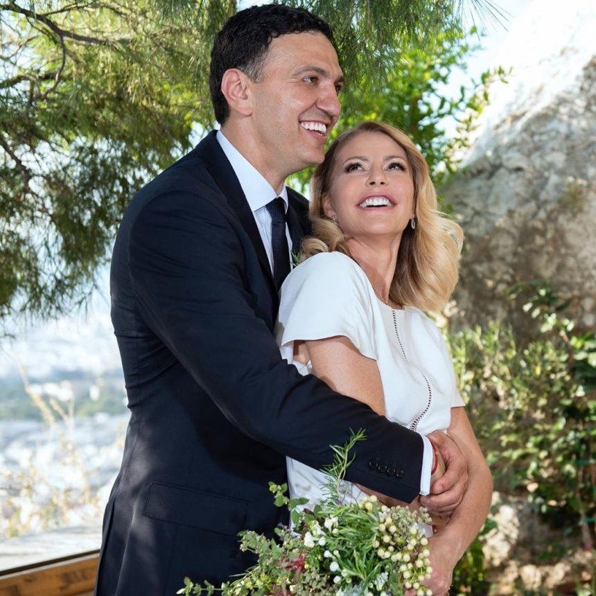 Τζένη Μπαλατσινού – Βασίλης Κικίλιας: Οι φωτογραφίες και τα λόγια αγάπης μετά το γάμο τους! | tlife.gr