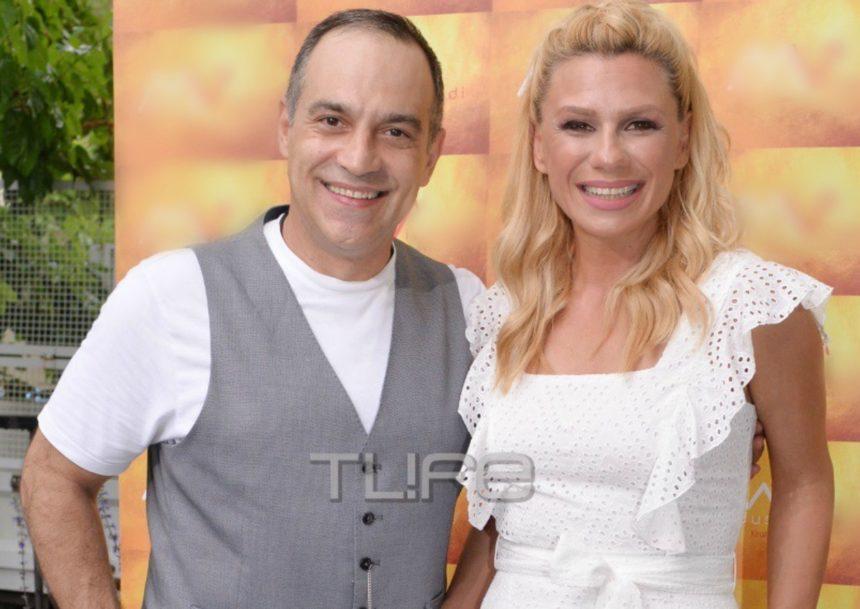 Κατερίνα Καραβάτου: Με total white look στα εγκαίνια της σχολής του συζύγου της, Κρατερού Κατσούλη! [pics] | tlife.gr
