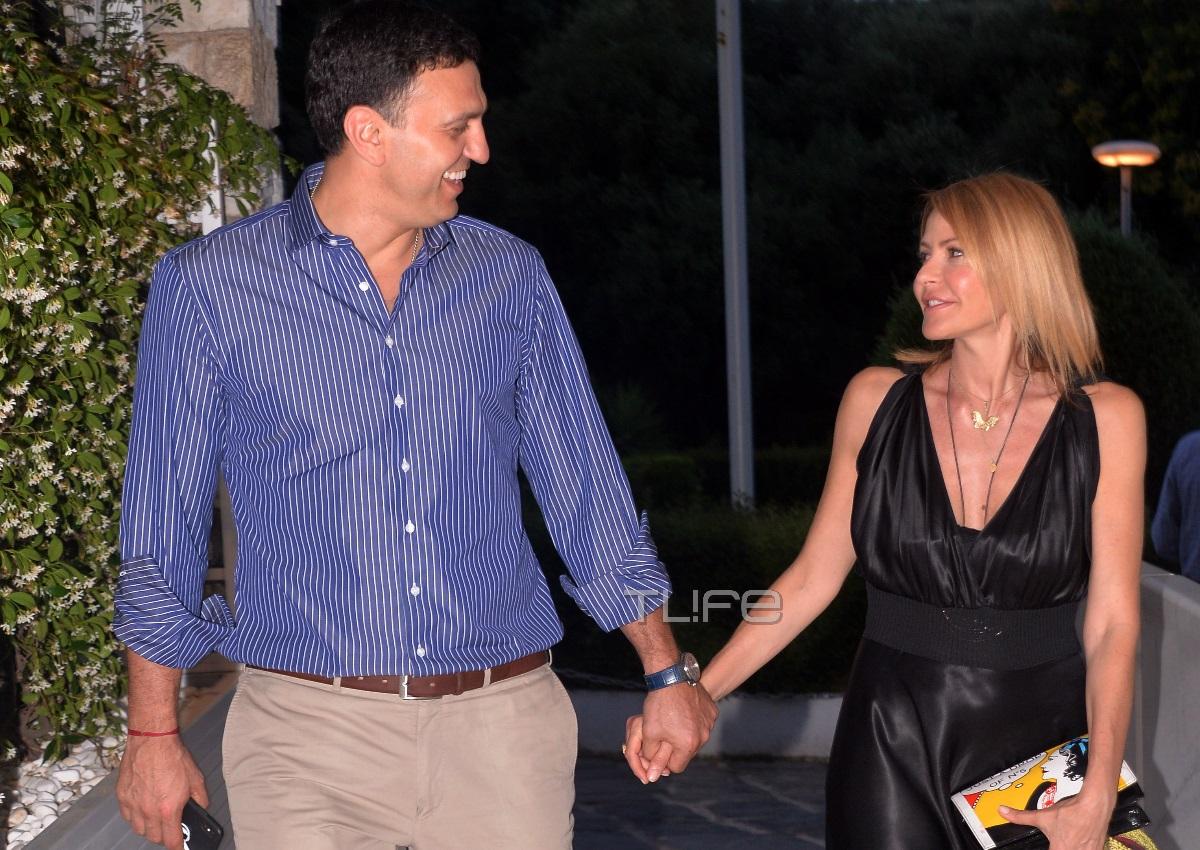 Τζένη Μπαλατσινού – Βασίλης Κικίλιας: Δείπνο με τους γονείς τους λίγο πριν από τον γάμο τους! Αποκλειστικές φωτογραφίες