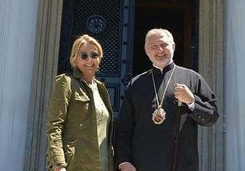Μαρέβα Μητσοτάκη: Στη Νέα Υόρκη για την ενθρόνιση του Αρχιεπίσκοπου Αμερικής! Φωτογραφίες | tlife.gr