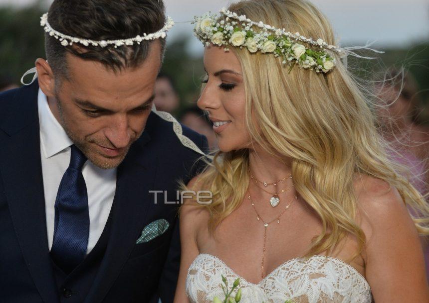 Μαρία Λουίζα Βούρου - Γιάννης Παπαγεωργίου: Το φωτογραφικό άλμπουμ του γάμου τους στην Άνδρο!