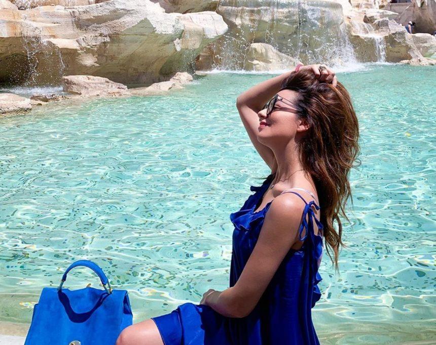 Νικολέττα Ράλλη: Ερωτευμένη στην Ρώμη με τον σύντροφό της, Μιχάλη Ανδρούτσο! [pics,video]
