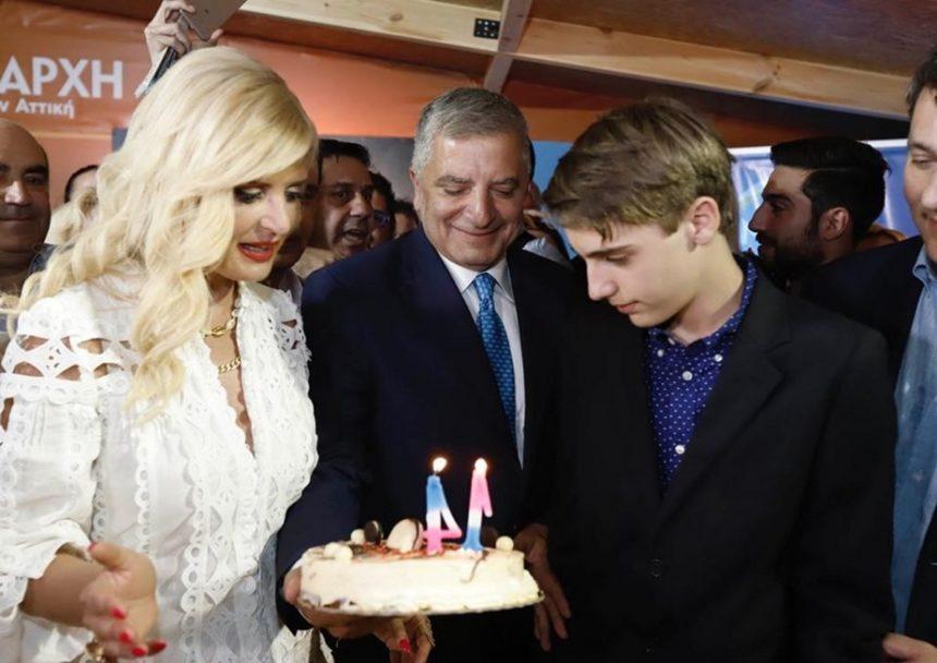 Γιώργος και Μαρίνα Πατούλη: Γιόρτασαν τη νίκη στις εκλογές μαζί με τα γενέθλια του γιου τους! | tlife.gr