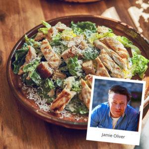 Κοτόπουλο του Καίσαρα από τον Jamie Oliver