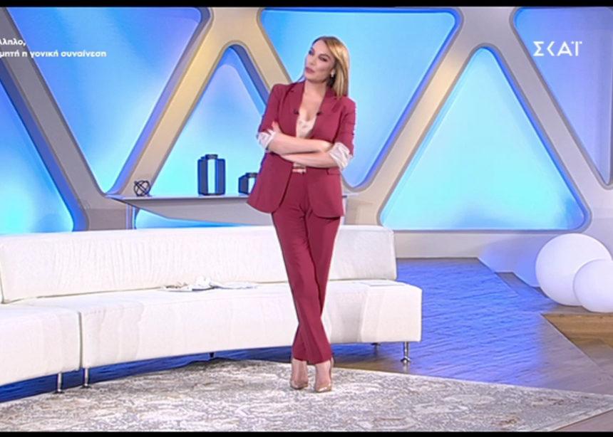 Όλες οι λεπτομέρειες για το look της Τατιάνας (24/06) | tlife.gr