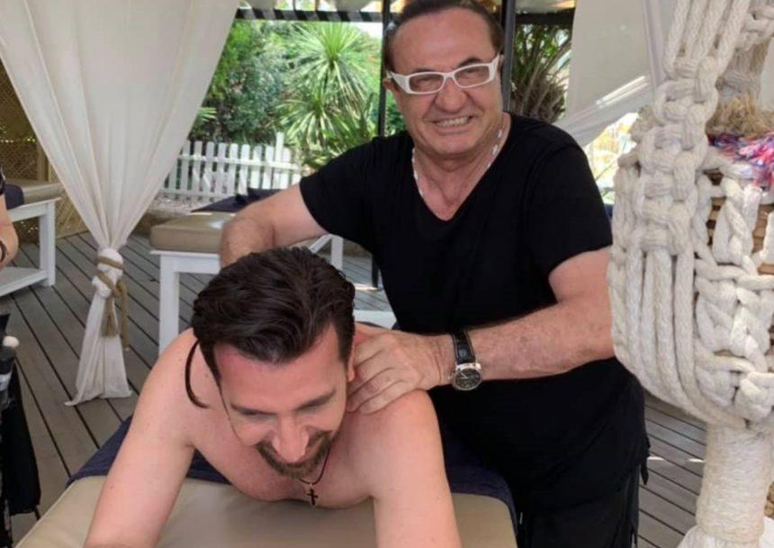 Λευτέρης Πανταζής: Το βίντεο με το μασάζ στον Θάνο Πετρέλη που έγινε viral! | tlife.gr