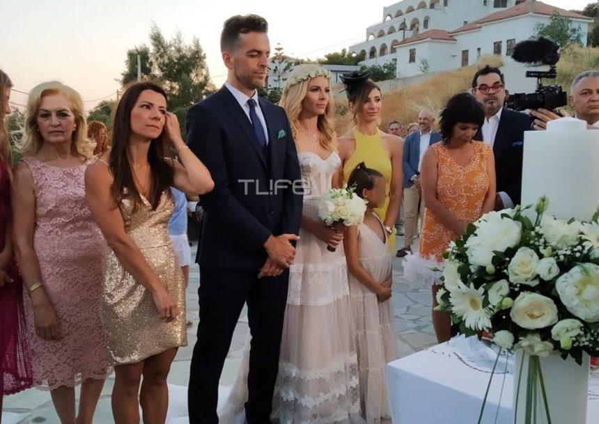 Μαρία Λουίζα Βούρου – Γιάννης Παπαγεωργίου: Παντρεύτηκαν στην Άνδρο [pics,video] | tlife.gr