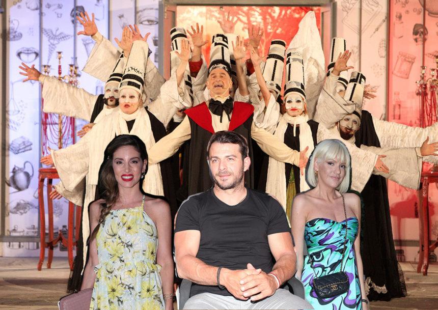 Η ελληνική showbiz στην πρεμιέρα της παράστασης «Ο κατά φαντασίαν ασθενής»! Φωτογραφίες | tlife.gr