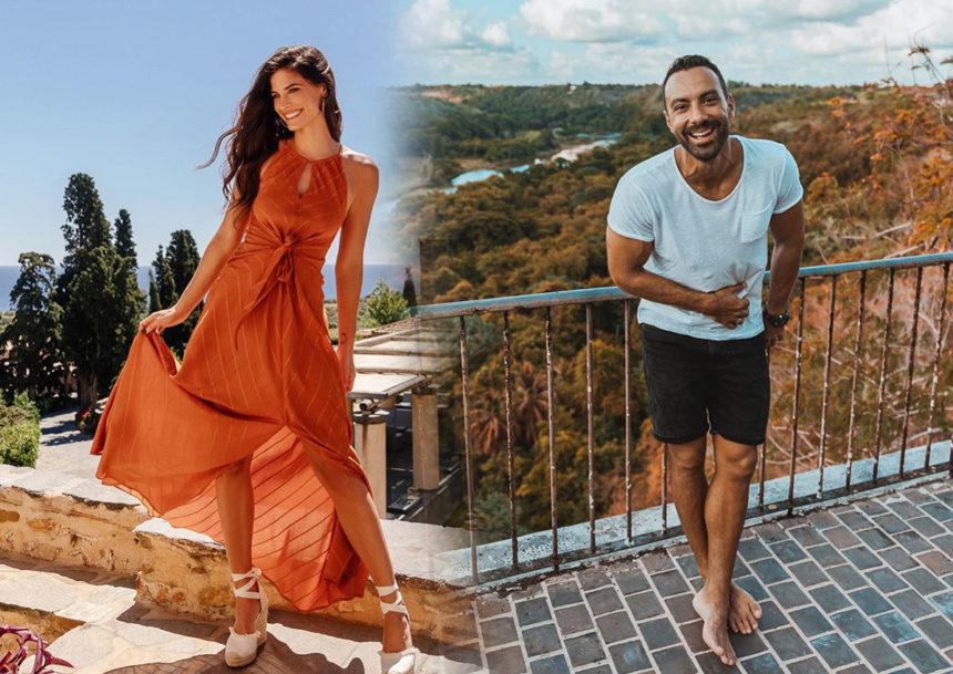 Χριστίνα Μπόμπα - Σάκης Τανιμανίδης: Ο ρομαντικός γάμος του αδερφού του και η επιστροφή στην καθημερινότητα της Αθήνας [pics, video]