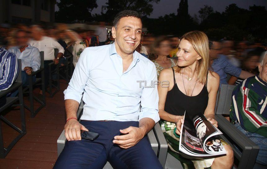 Τζένη Μπαλατσινού – Βασίλης Κικίλιας: Ρομαντικό δείπνο για δύο στο μαγαζί του Βασίλη Καλλίδη! [pics] | tlife.gr