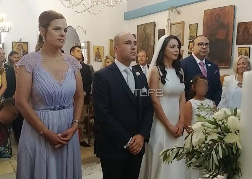 Κωνσταντίνος Μπογδάνος – Έλενα Καρβέλα: Αυτή τη στιγμή ο γάμος τους στην Νάξο! Φωτογραφίες | tlife.gr