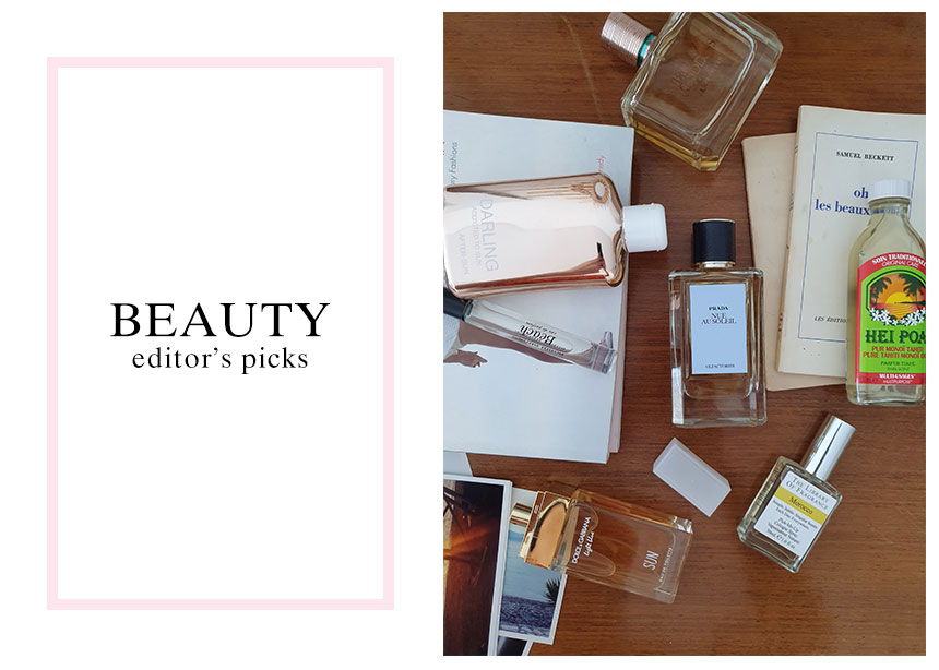 Πώς μυρίζει μια beauty editor το καλοκαίρι!