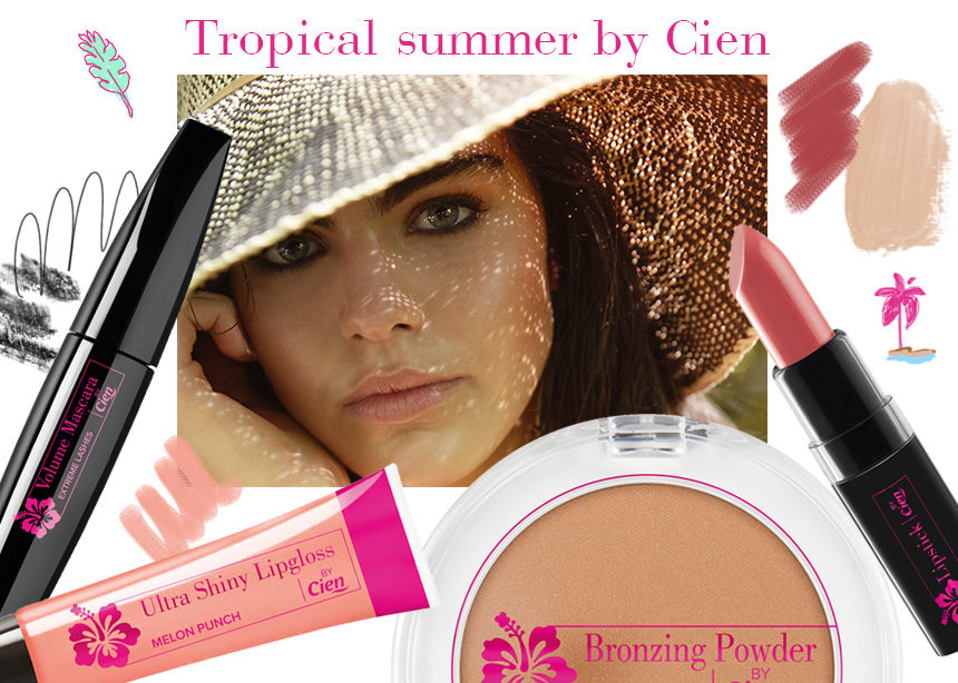 Tropical summer by Cien: η καλοκαιρινή σειρά μακιγιάζ που έκλεψε την καρδιά της beauty editor! | tlife.gr