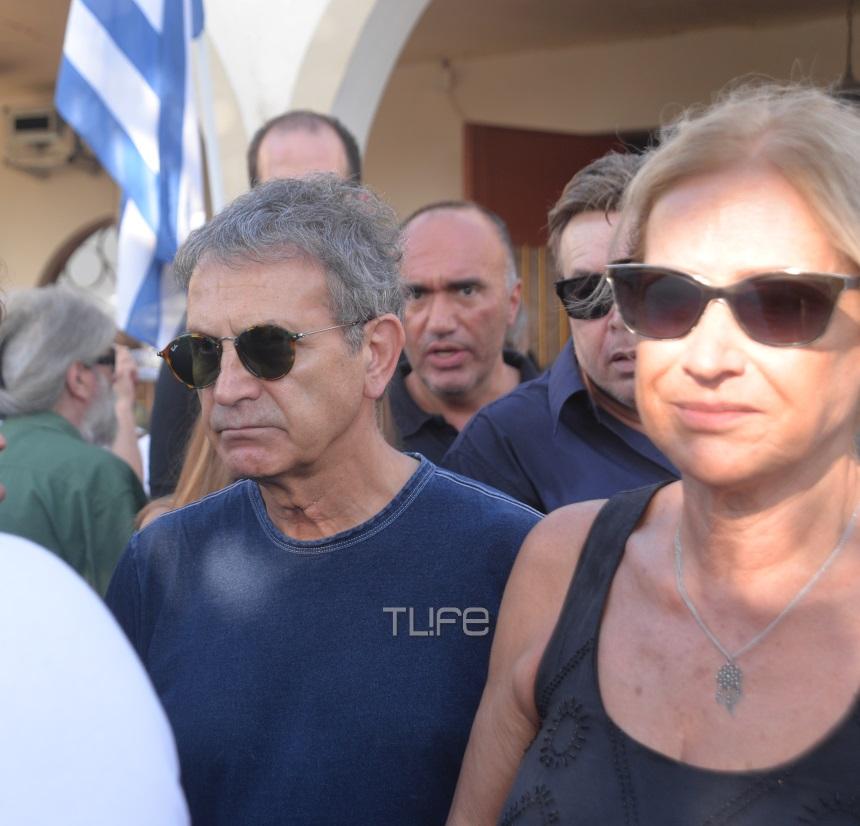 Γιάννης Σπάθας: Θλίψη στην κηδεία του - Το τελευταία αντίο στον «Socrates»