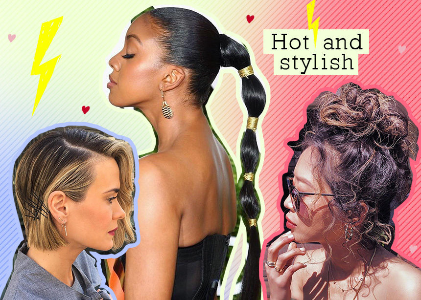 Τα πιο στιλάτα χτενίσματα για την ζέστη από τους κομμωτές των star! | tlife.gr