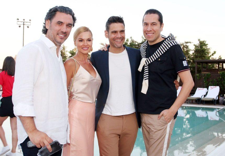 Οι celebrities υποδέχτηκαν το καλοκαίρι με ένα λαμπερό pool party! Φωτογραφίες | tlife.gr