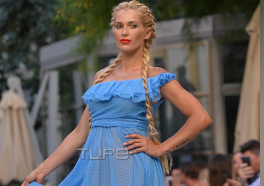Βικτώρια Καρύδα: Έκλεψε τις εντυπώσεις στο fashion show του Βασίλειου Κωστέτσου! [pics]