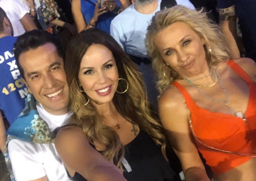 Γωγώ Μαστροκώστα – Ιωάννα Λίλη: Απόλαυσαν τους συζύγους τους ξανά στο γήπεδο! | tlife.gr