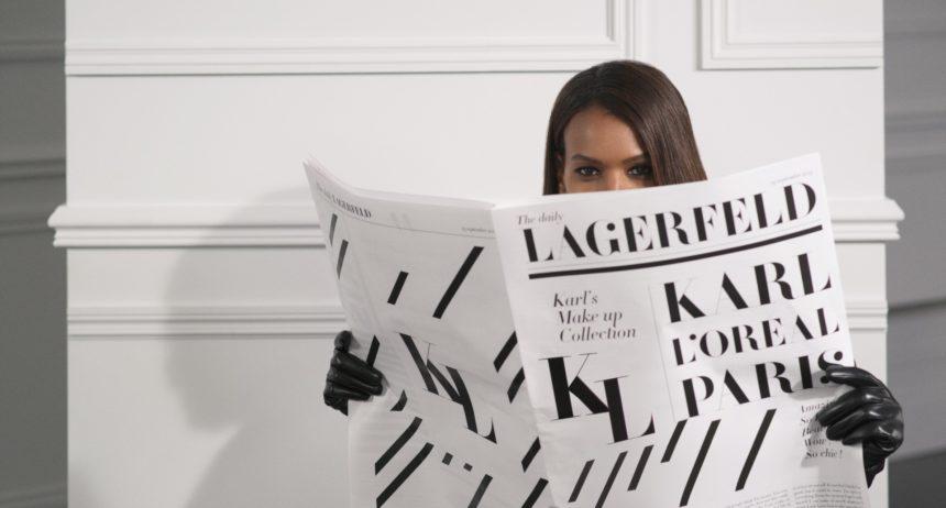 Πότε θα κυκλοφορήσει στην Ελλάδα η συλλογή μακιγιάζ του Karl Lagerfeld με την L'Oreal Paris! | tlife.gr