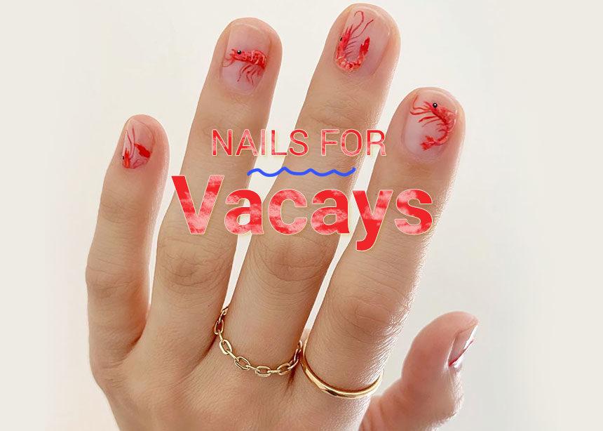 Τα καλύτερα νύχια για να φύγεις για διακοπές! | tlife.gr