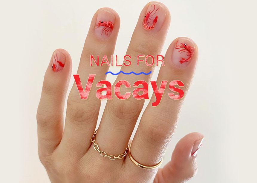 Τα καλύτερα νύχια για να φύγεις για διακοπές!
