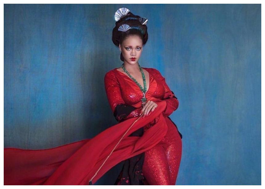 H Rihanna γκέισα. Πόσο σου άρεσε αυτή η φωτογράφιση; | tlife.gr
