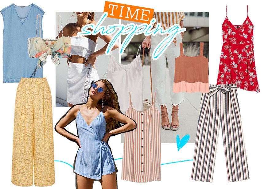 Η fashion editor σου δείχνει τα σωστά ρούχα για την ζέστη: αέρινα φορέματα, top και παντελόνια! | tlife.gr