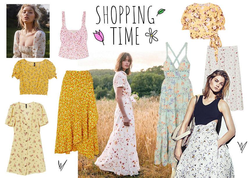 Ρεπορταζ αγοράς: Σου βρήκαμε τα πιο στιλάτα ρούχα με τα μικρά floral που λατρεύουν οι Γαλλίδες! | tlife.gr