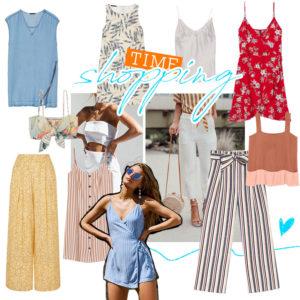 Η fashion editor σου δείχνει τα σωστά ρούχα για την ζέστη: αέρινα φορέματα, top και παντελόνια!