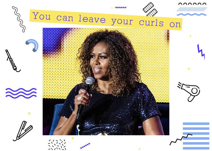 Rock those curls! Πώς να χτενίσεις τα σγουρά μαλλιά σου όπως η Michelle Obama! | tlife.gr