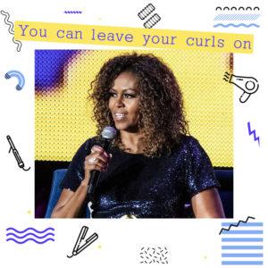 Πώς να χτενίσεις τα σγουρά μαλλιά σου όπως η Michelle Obama!