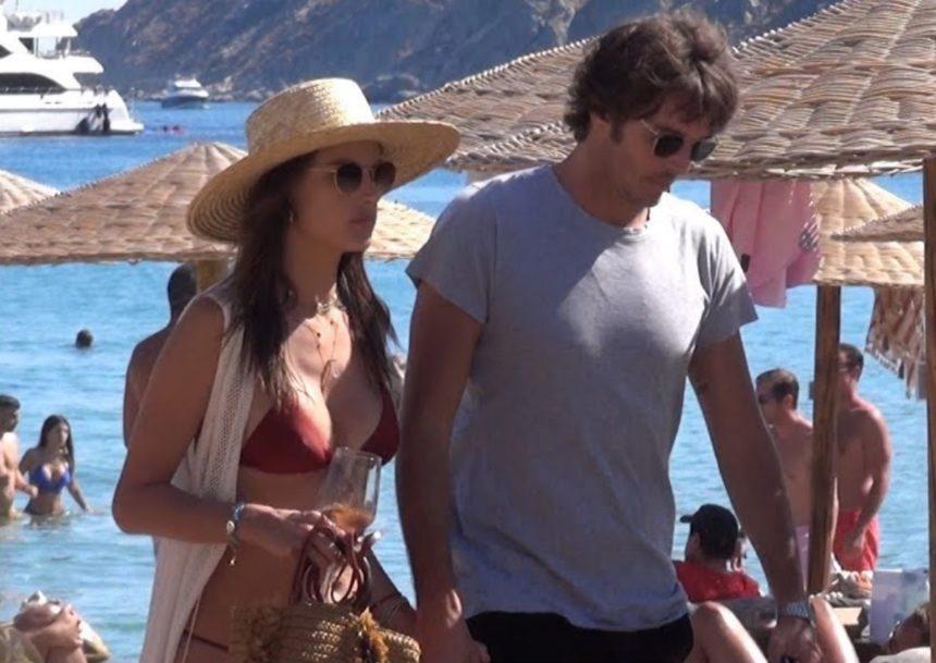 Alessandra Ambrosio: Full in love σε παραλία της Μυκόνου με τον νέο της σύντροφο! [video]
