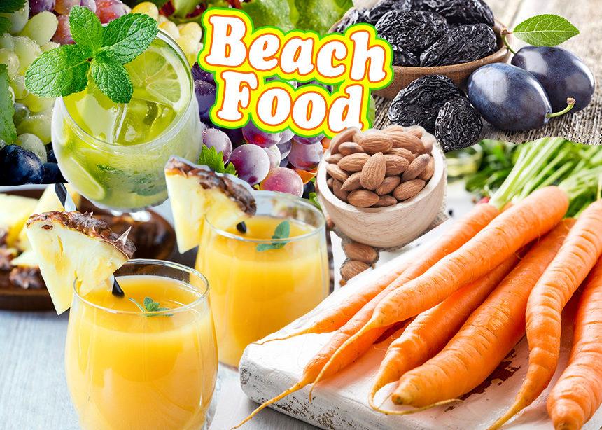 Αυτά είναι τα ιδανικά σνακ και ποτά που μπορείς να καταναλώσεις στην παραλία | tlife.gr