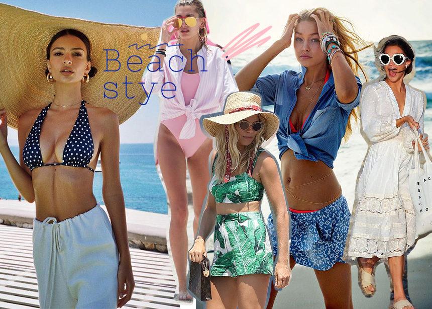 Beachwear: 10 διάσημες σου δίνουν styling tips για την εμφάνιση σου στην παραλία! | tlife.gr