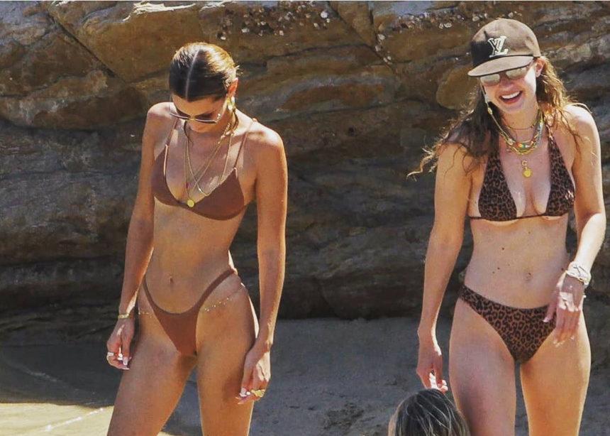 Tα super trendy μαγιό που φοράνε στην Μύκονο η Βella και η Gigi! | tlife.gr