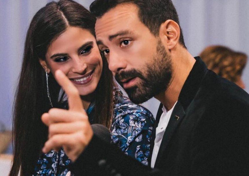 Χριστίνα Μπόμπα: Έδινε συνέντευξη και ο Σάκης Τανιμανίδης τη διέκοψε για ένα… φιλί! [video] | tlife.gr