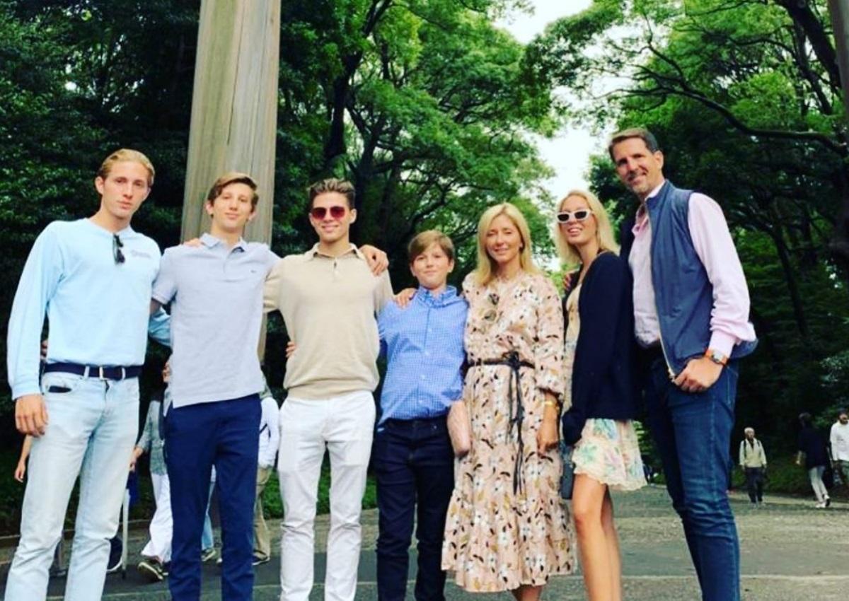 Παύλος – Marie Chantal: Ταξίδι με όλη την οικογένεια στο Τόκιο! [pics,vid]