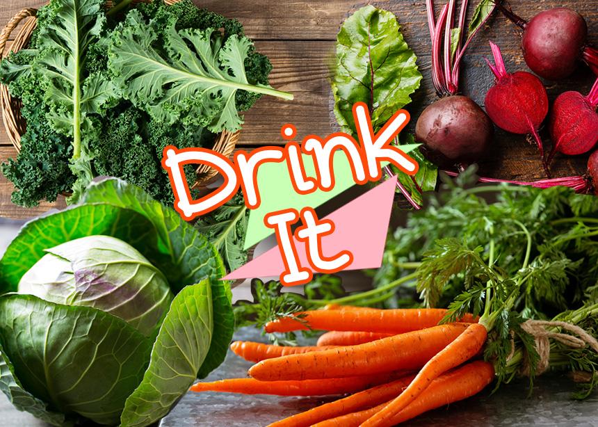 Θα θες να πιεις τον χυμό αυτών των 10 λαχανικών