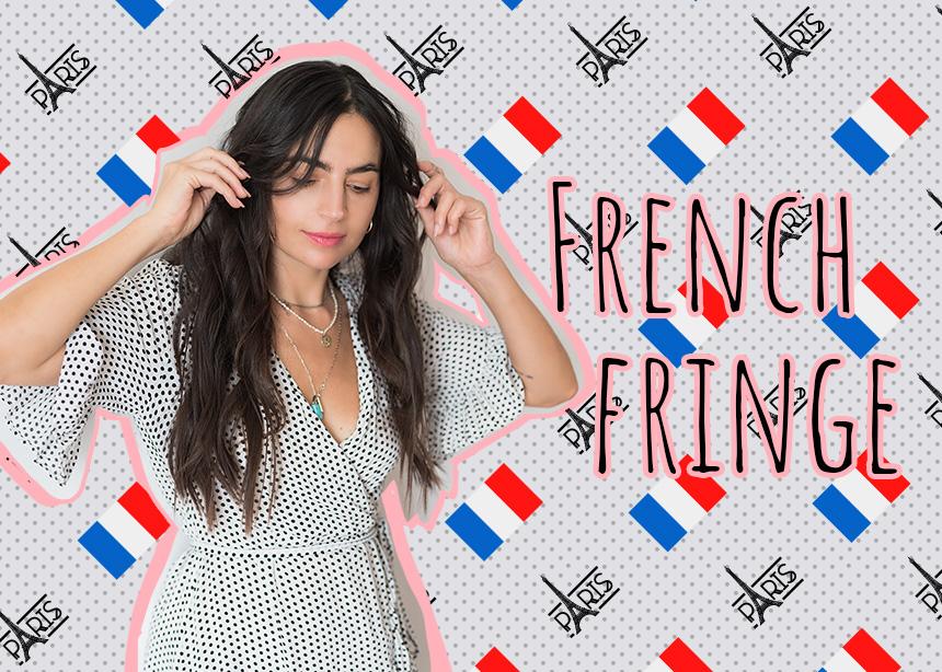 Έκοψα γαλλικές φράντζες στην καρδιά του καλοκαιριού και ήταν το καλύτερο πράγμα που έκανα!