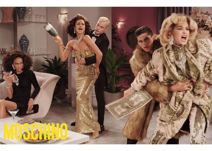 H Gigi Hadid και η Ιrina Shayk «παίζουν» Δυναστεία στo νέο campaign video του Moschino | tlife.gr