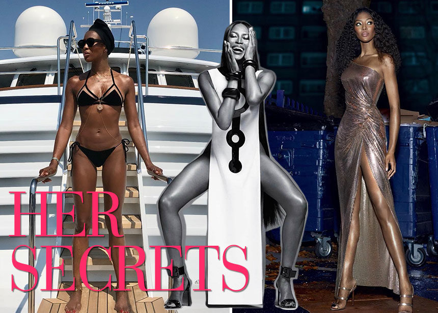 Naomi Campbell: Έτσι διατηρεί την αψεγάδιαστη φιγούρα της η μαύρη γαζέλα της μόδας   tlife.gr