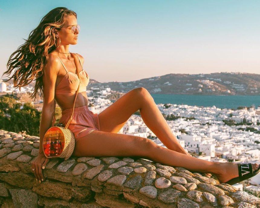 Η Βραζιλιάνα καλλονή Izabel Goulart κάνει… κούνιες στο Νησί των Ανέμων! Video | tlife.gr