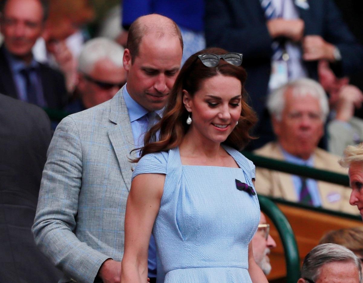 Πρίγκιπας William – Kate Middleton: Παρακολουθούν μαζί τον τελικό του Wimbledon [pics]