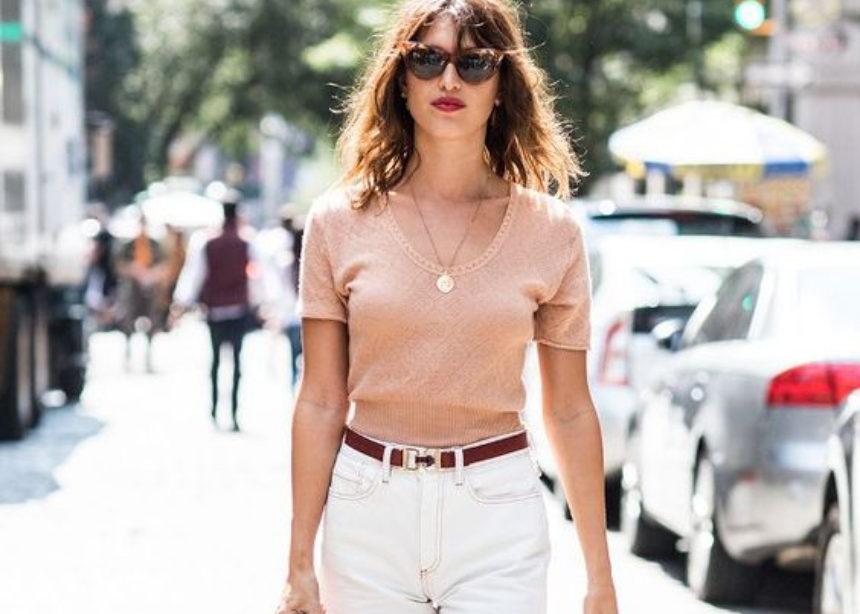 Μία stylish ιδέα για να φορέσεις το λευκό jean σου αυτό το ΣΚ | tlife.gr