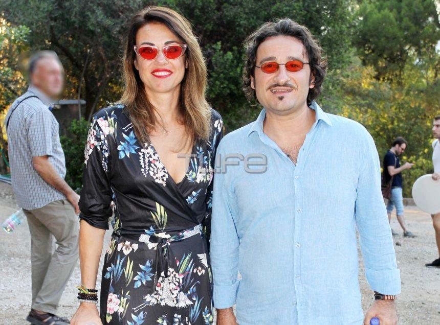 Βασίλης Χαραλαμπόπουλος: Στην Επίδαυρο μαζί με την σύζυγό του, Λίνα Πρίντζου! [pics]