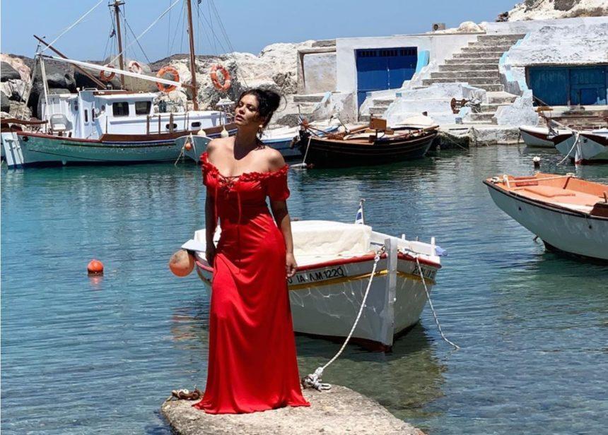 Μαρία Κορινθίου: Στη Μήλο για την νέα της φωτογράφηση! Backstage video